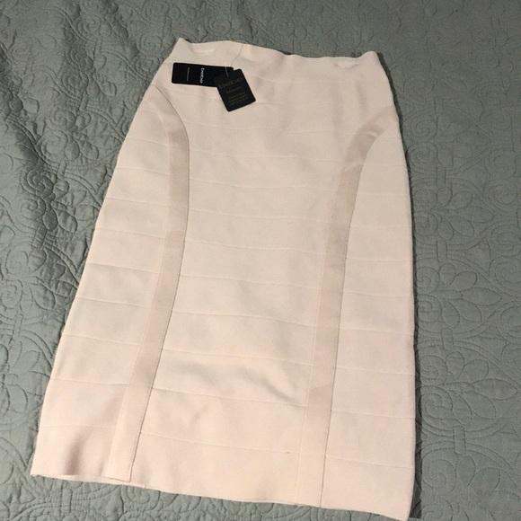 bebe Dresses & Skirts - Bebe midi bandage skirt